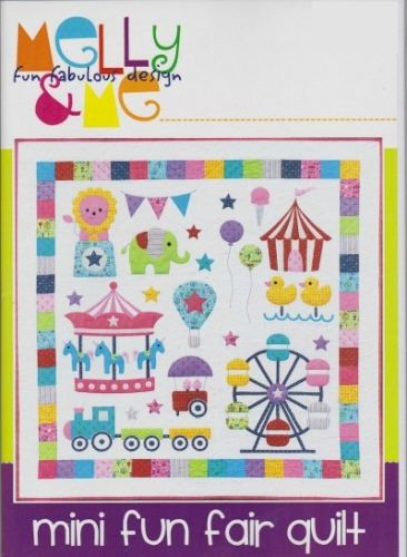 Melly and Me - Mini Fun Fair Quilt Pattern